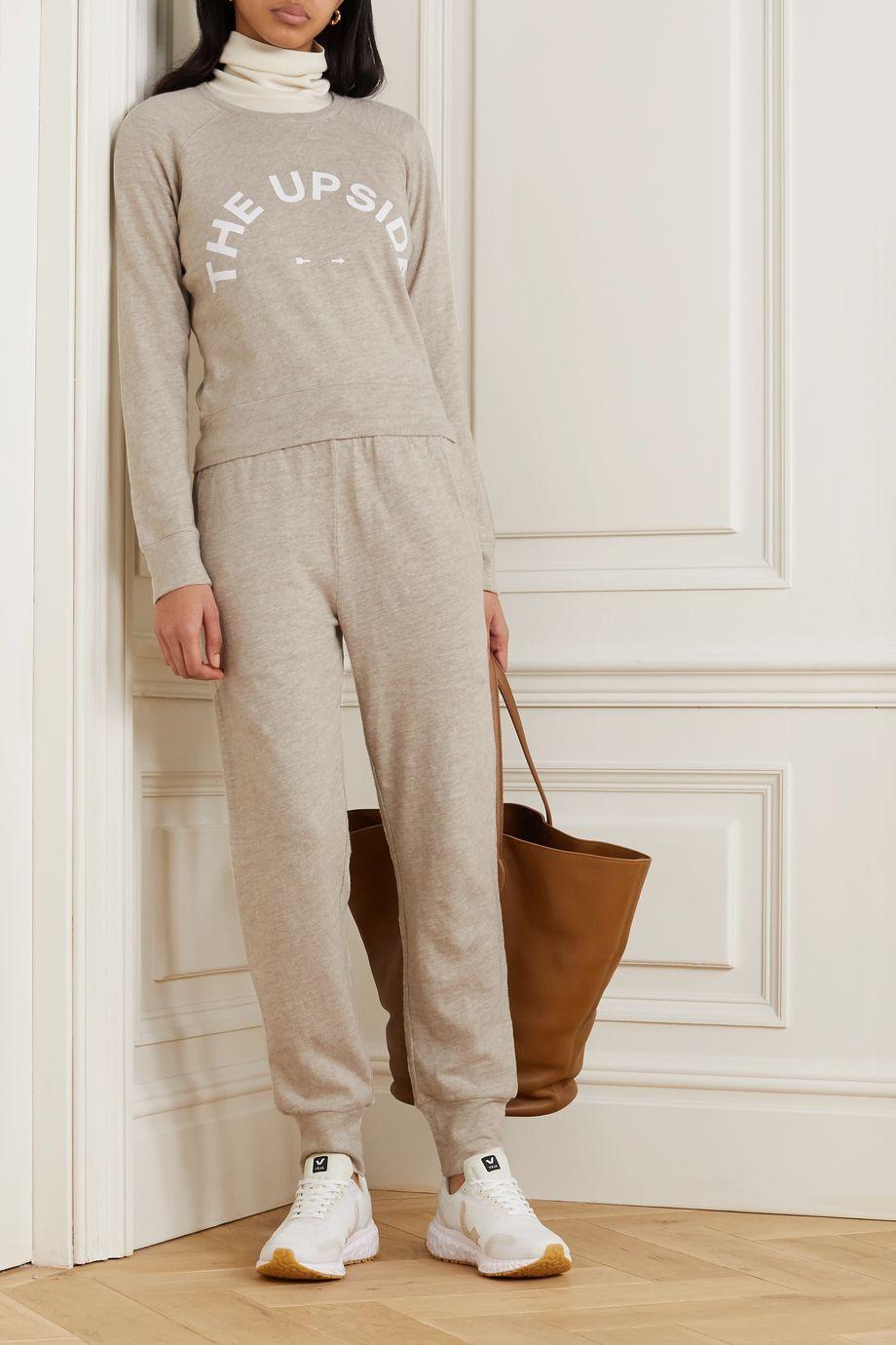 The Upside Horseshoe Bronte Sweatshirt aus Flammgarn-Jersey aus Baumwolle mit Print