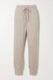 The Upside Long Island printed slub cotton-jersey track pants