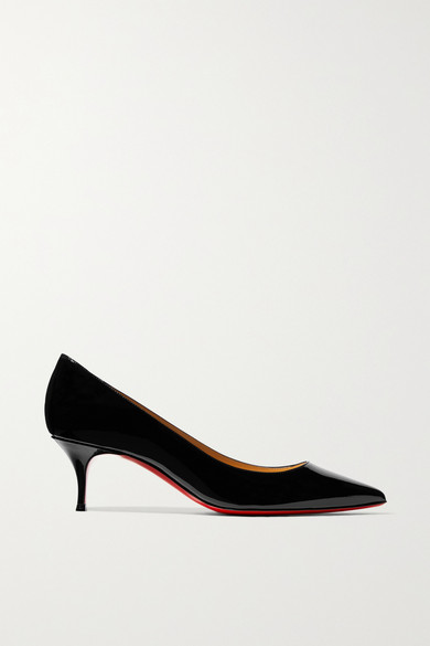 Christian Louboutin Pumps Kate 55 patent-leather pumps