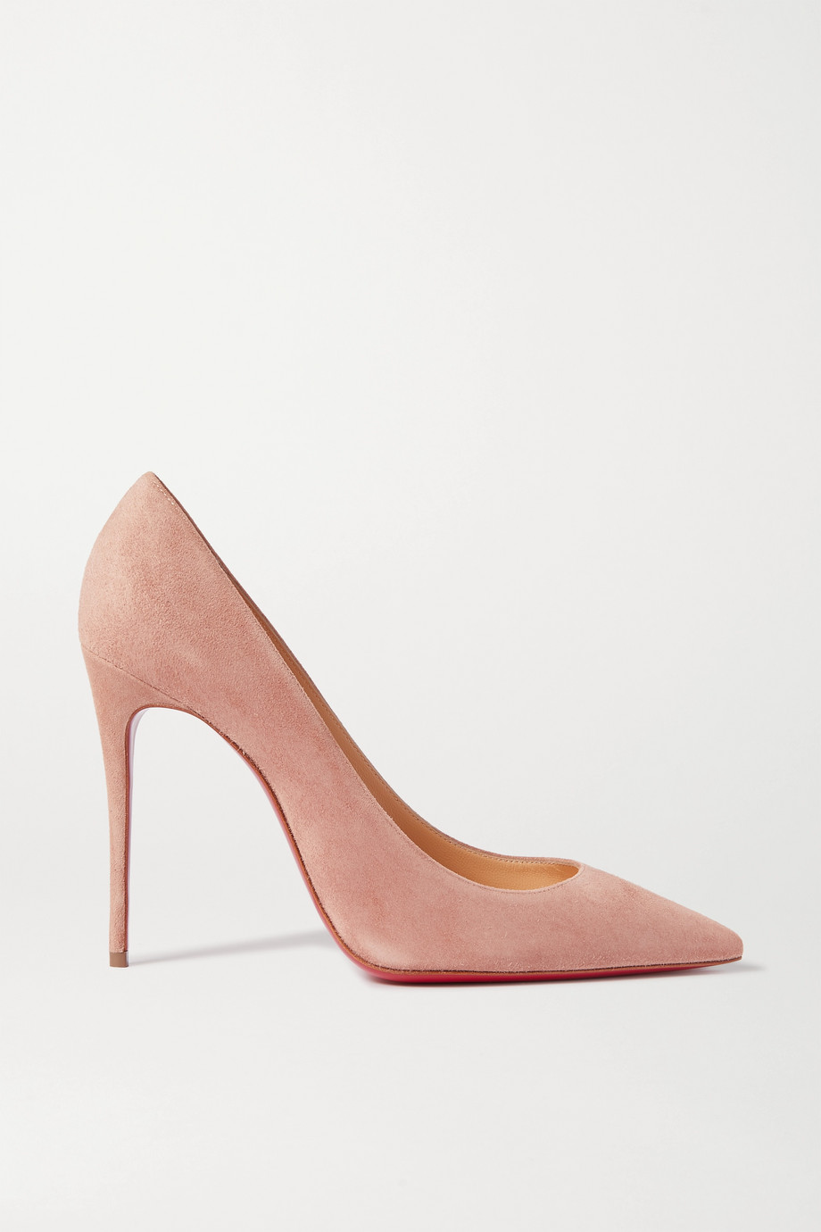 Christian Louboutin Kate 100 绒面革高跟鞋