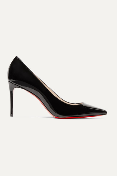 Christian Louboutin Pumps Kate 85 patent-leather pumps