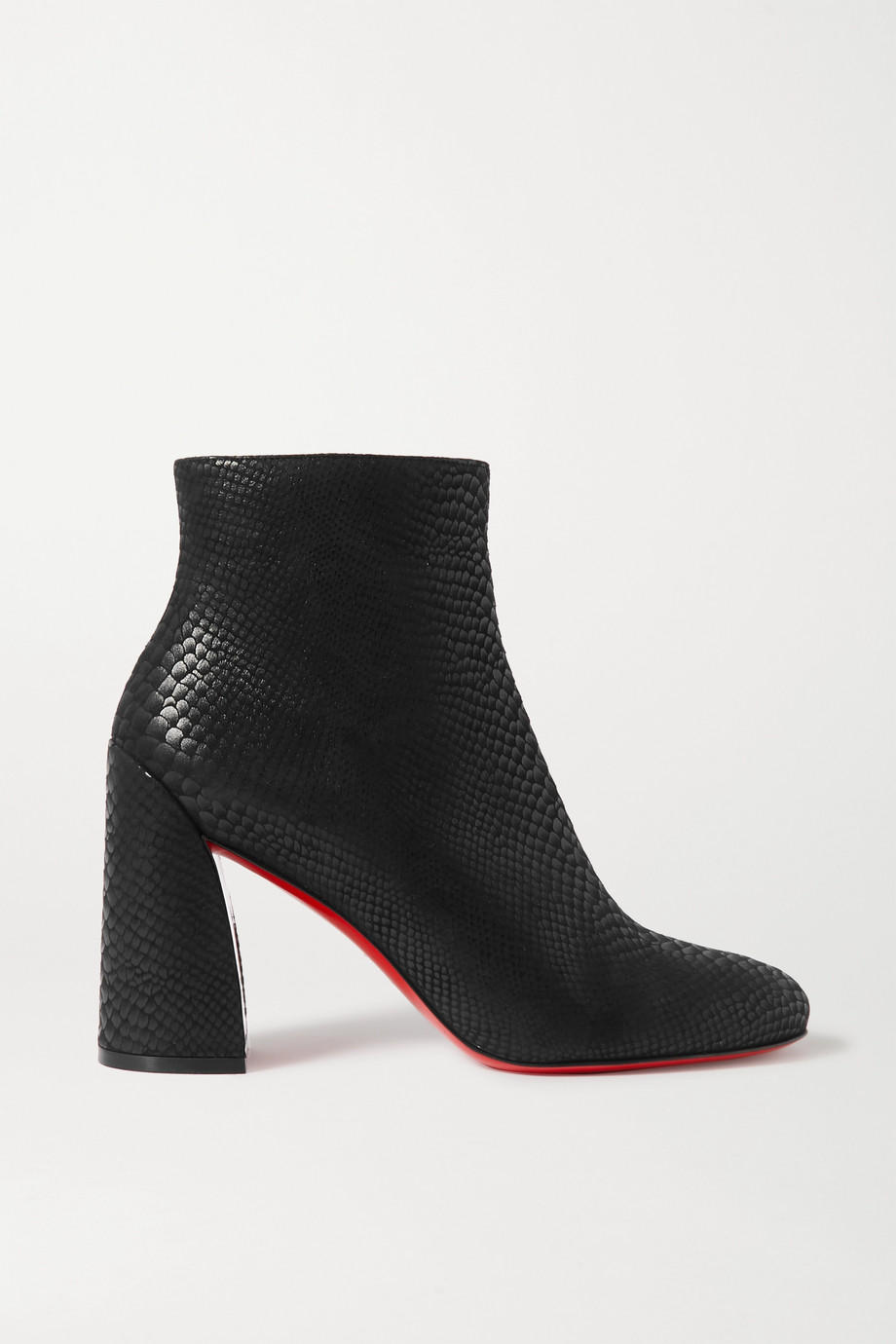 Christian Louboutin Turela 85 lizard-effect leather ankle boots