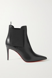 Carnababy 85 leather ankle boots
