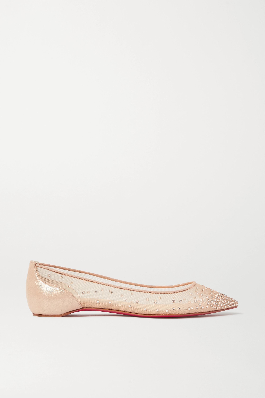 point-toe flats | Christian Louboutin