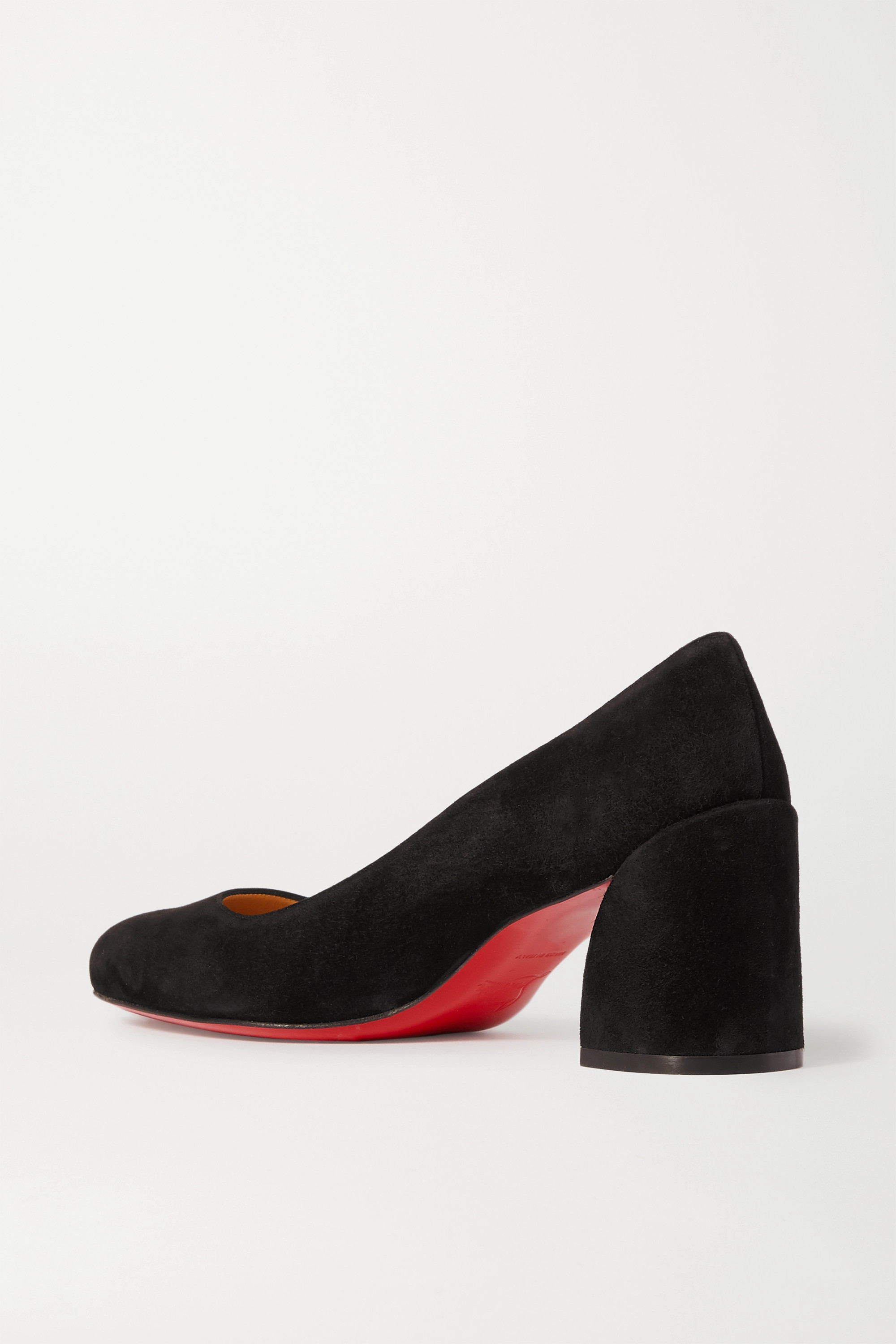 Christian Louboutin Miss Sab 55 suede pumps