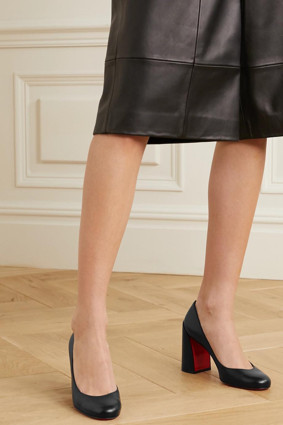Christian Louboutin Miss Sab 85 leather pumps