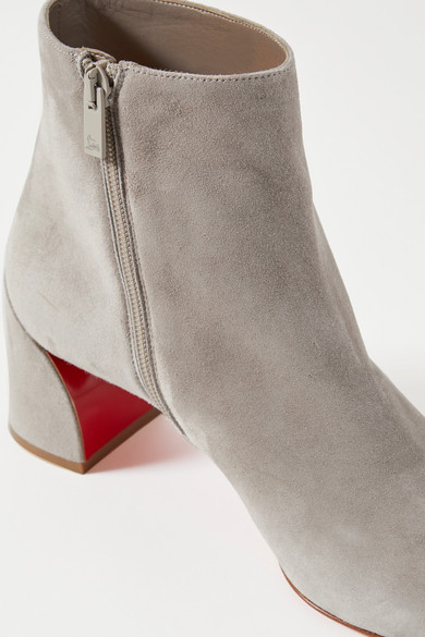 Turela 55 Suede Ankle Boots by Christian Louboutin
