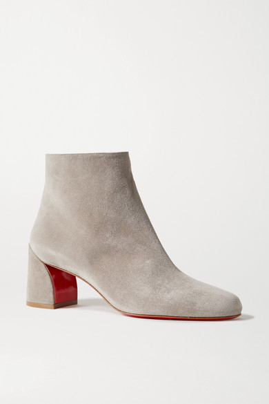 Christian Louboutin Boots Turela 55 suede ankle boots