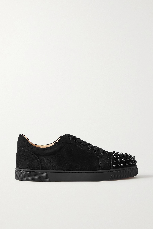louboutin slip on sneakers