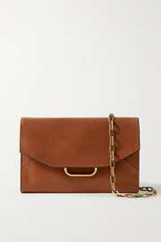 Isabel Marant Kyloe leather shoulder bag