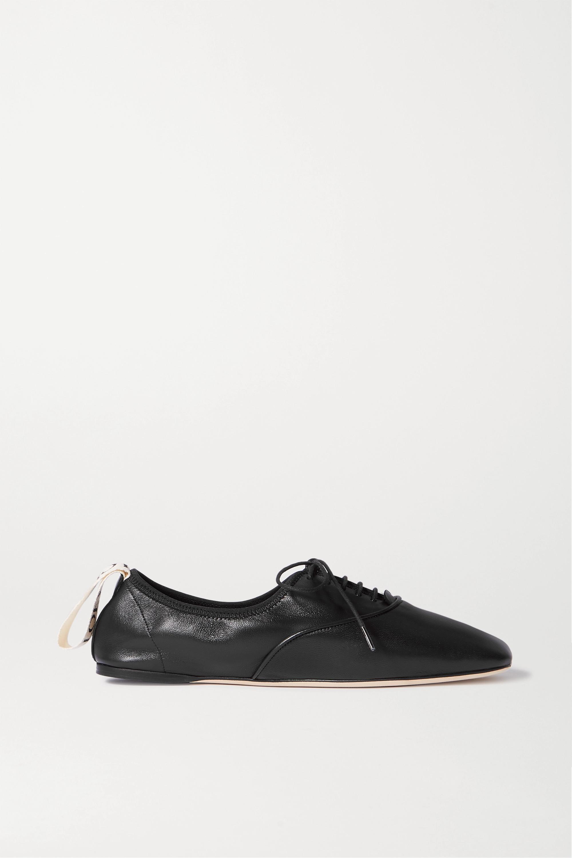 leather ballet flats   Loewe   NET-A-PORTER