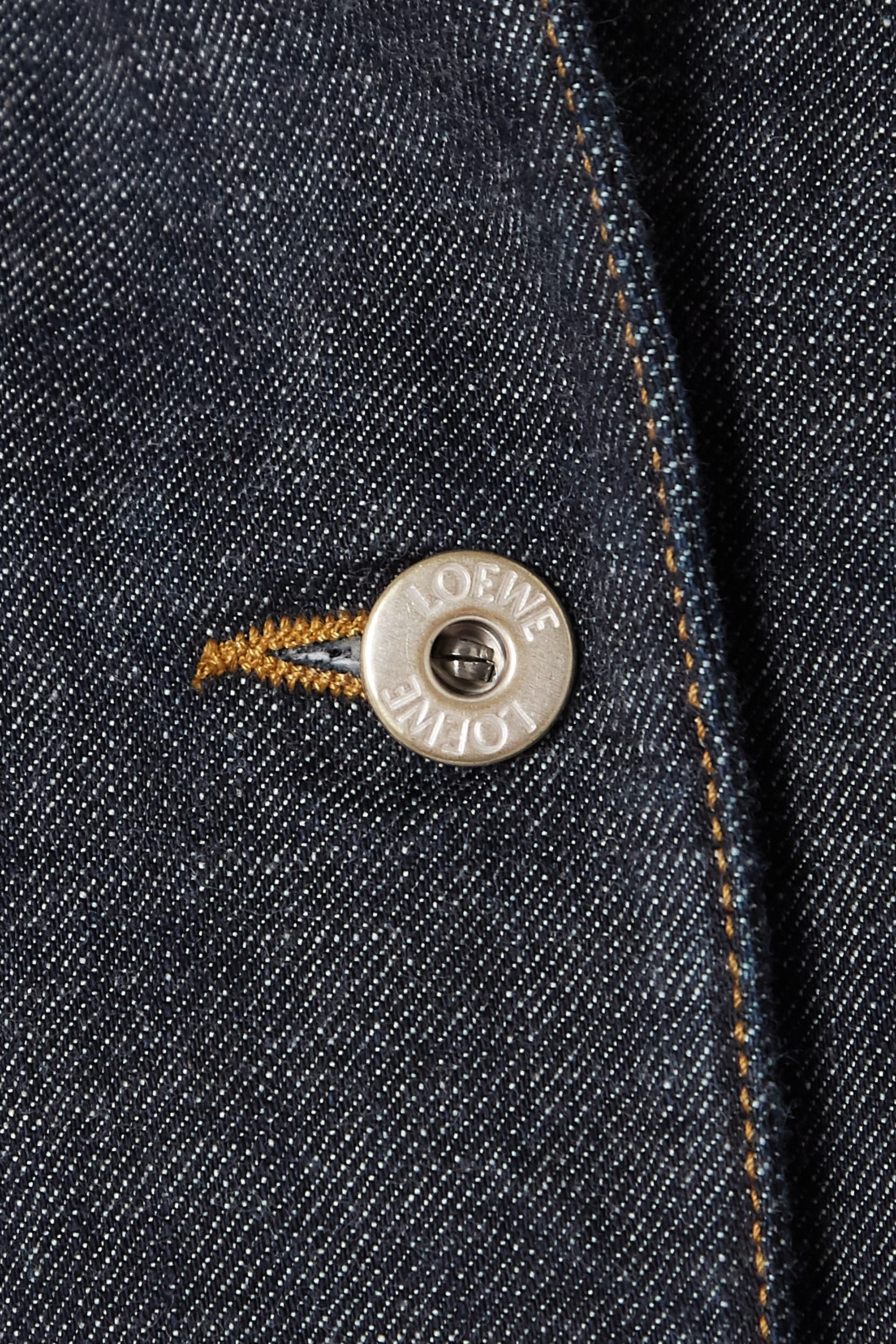 Loewe Cropped denim jacket