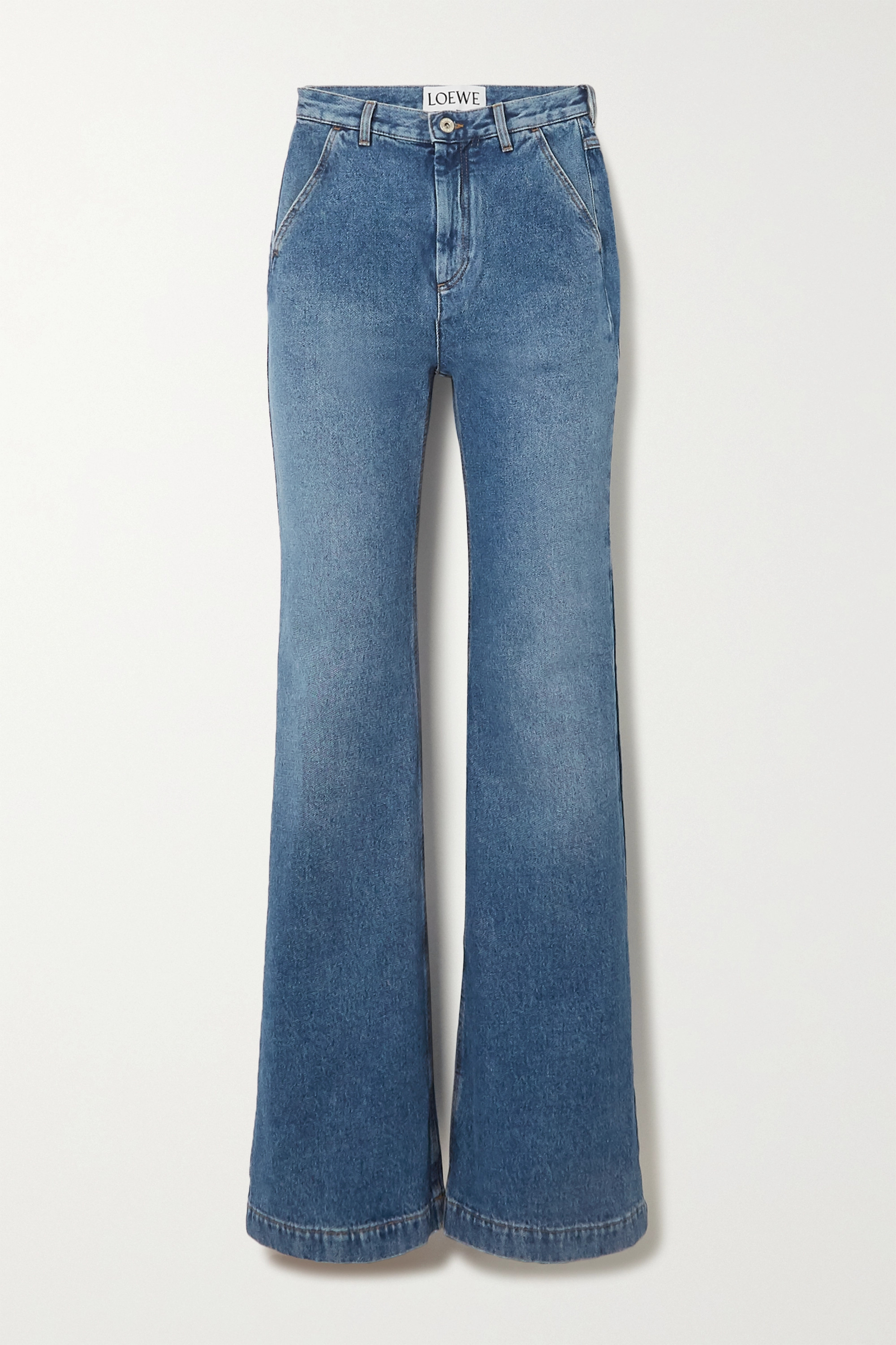 Loewe High-rise straight-leg jeans