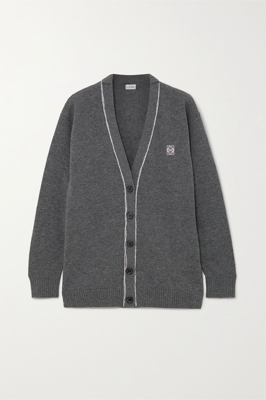 Loewe Embroidered wool cardigan