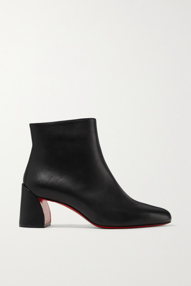 Turela 55 Leather Ankle Boots by Christian Louboutin