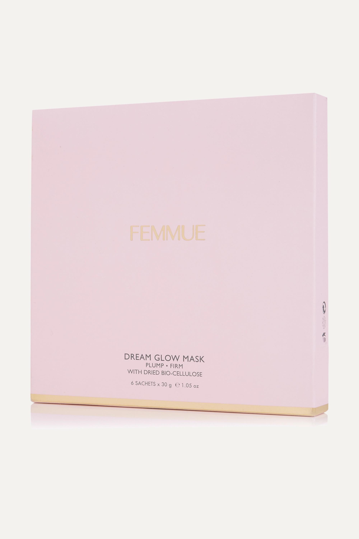 FEMMUE Dream Glow Mask - Plump + Firm x 6