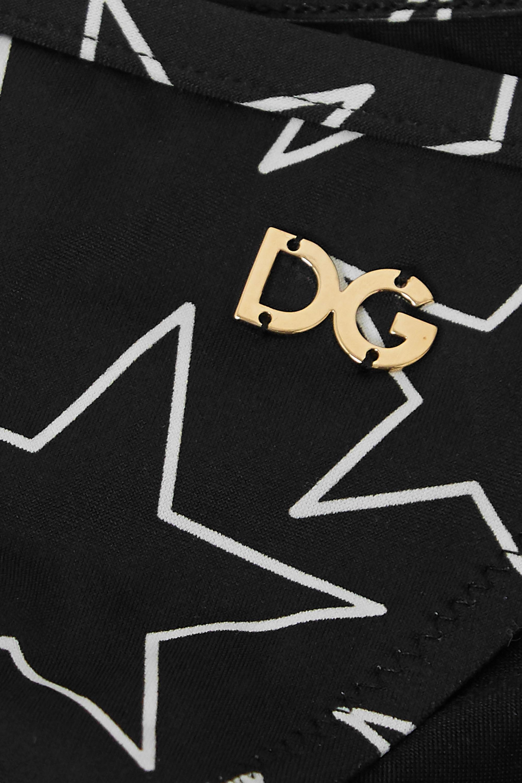 Dolce & Gabbana Printed bikini briefs