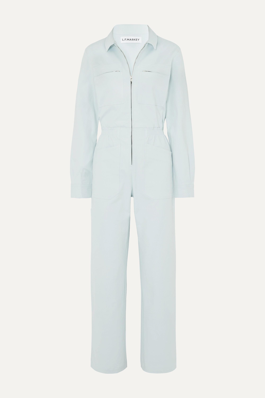 L.F.Markey Danny stretch-cotton twill jumpsuit