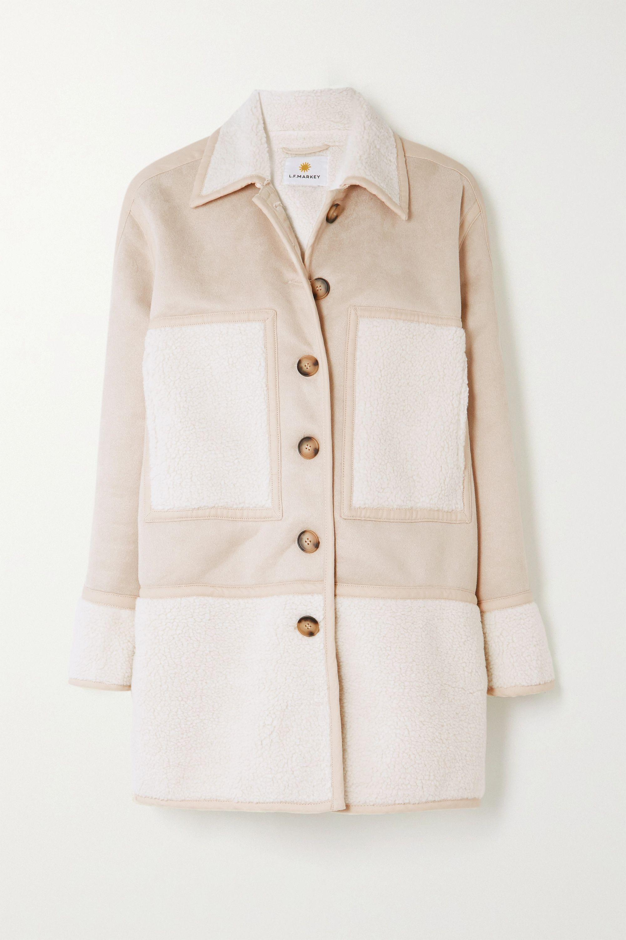 L.F.Markey Graham vegan shearling coat