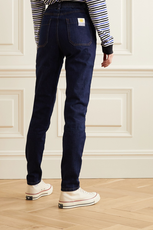 L.F.Markey Johnny high-rise straight-leg jeans