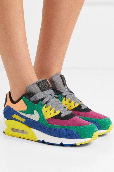 Nike | Air Max 90 QS Viotech 2.0 suede, canvas and mesh