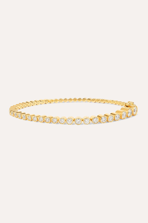 Sophie Bille Brahe Tennis 18-karat gold diamond bracelet