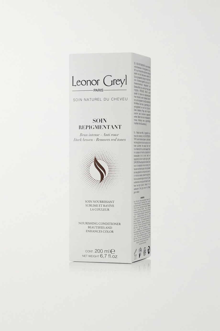 Leonor Greyl Paris Soin Repigmentant Nourishing Conditioner - Dark Brown, 200ml