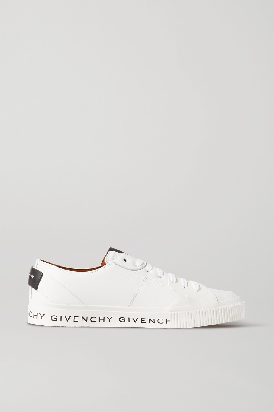 Givenchy Logo-print leather and rubber sneakers