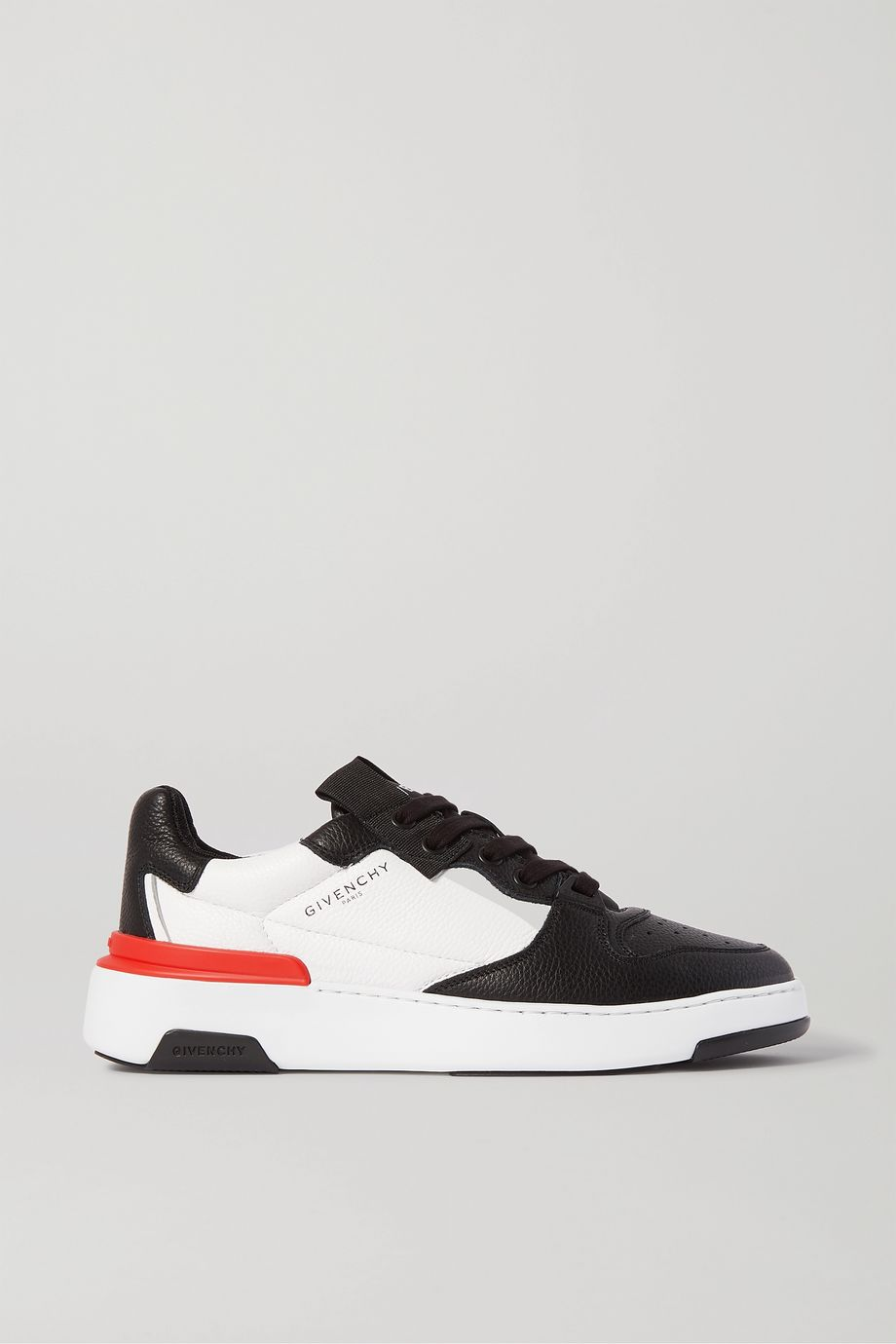 Givenchy Wing two-tone textured-leather sneakers