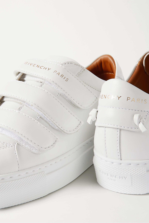 White Urban Street leather sneakers