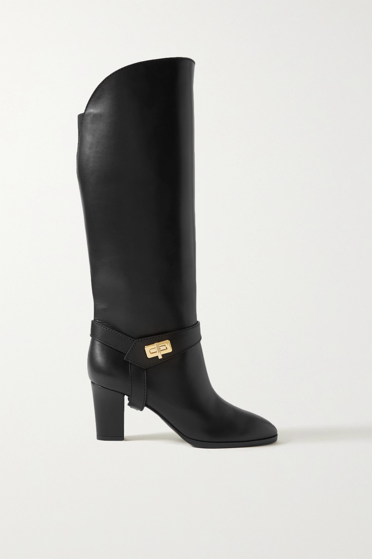 Givenchy Eden kniehohe Stiefel aus Leder