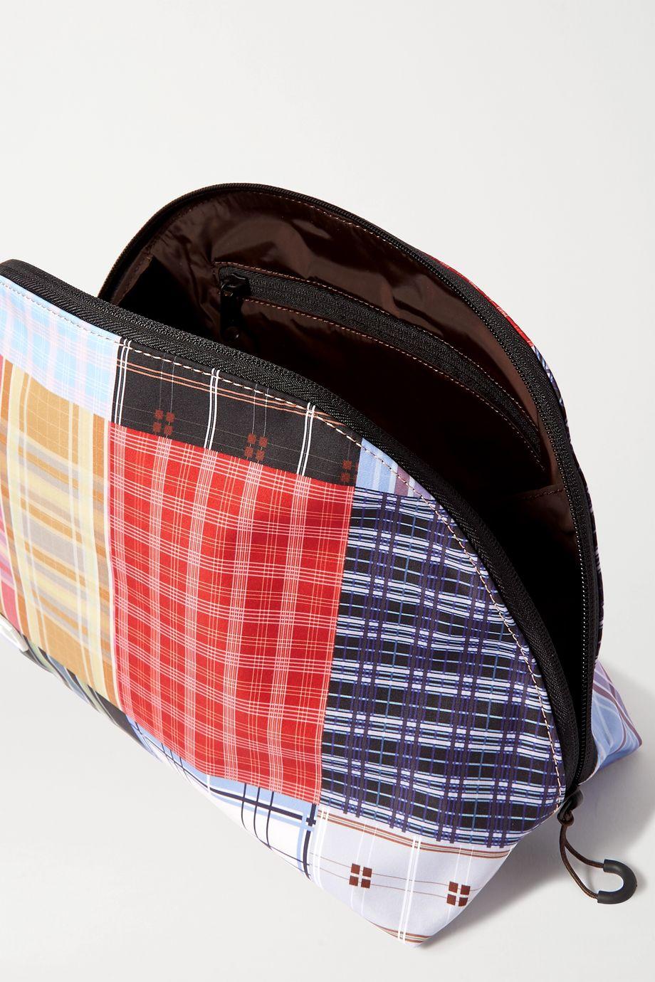 GANNI Checked nylon pouch