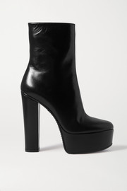 Givenchy Leather platform ankle boots