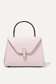 Iside mini textured-leather tote