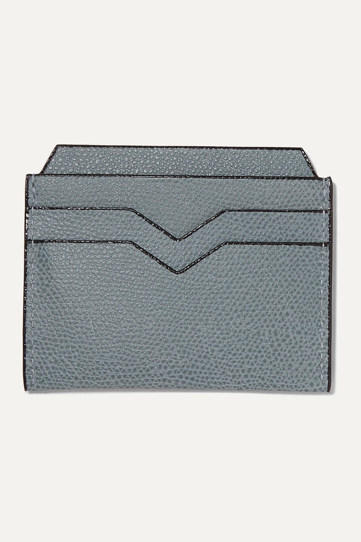 Valextra 纹理皮革卡夹