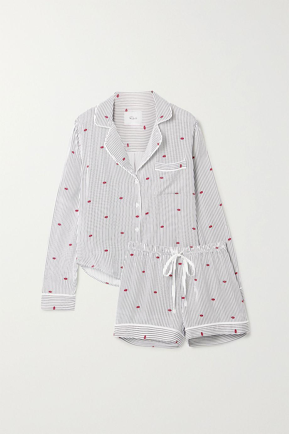Rails Kellen printed voile pajama set