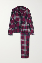 Rails Clara checked flannel pajama set