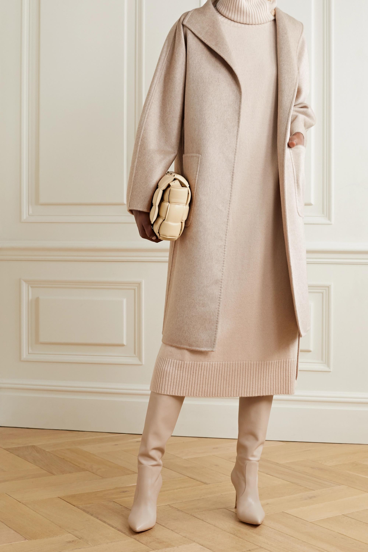 Max Mara Lilia belted cashmere coat