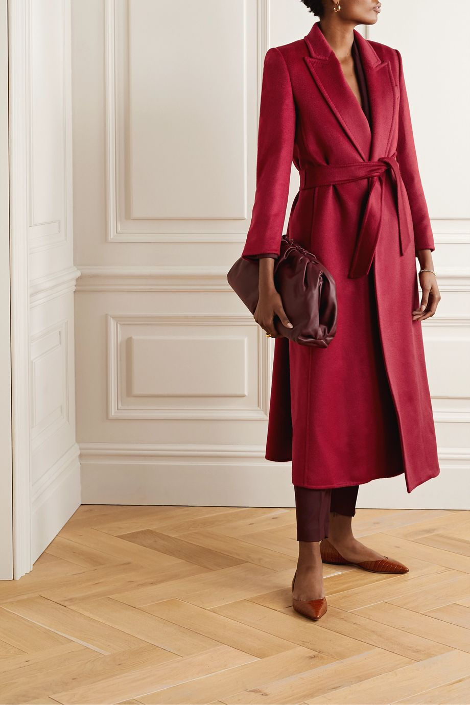 Max Mara Kriss belted cashmere coat
