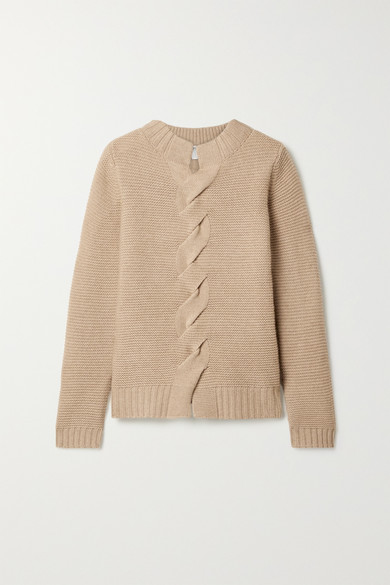 albania-wool-and-cashmere-blend-sweater by max-mara