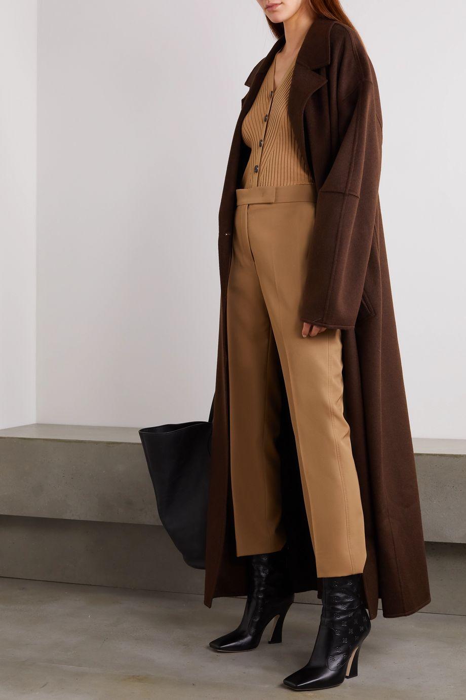 Max Mara Wool straight-leg pants