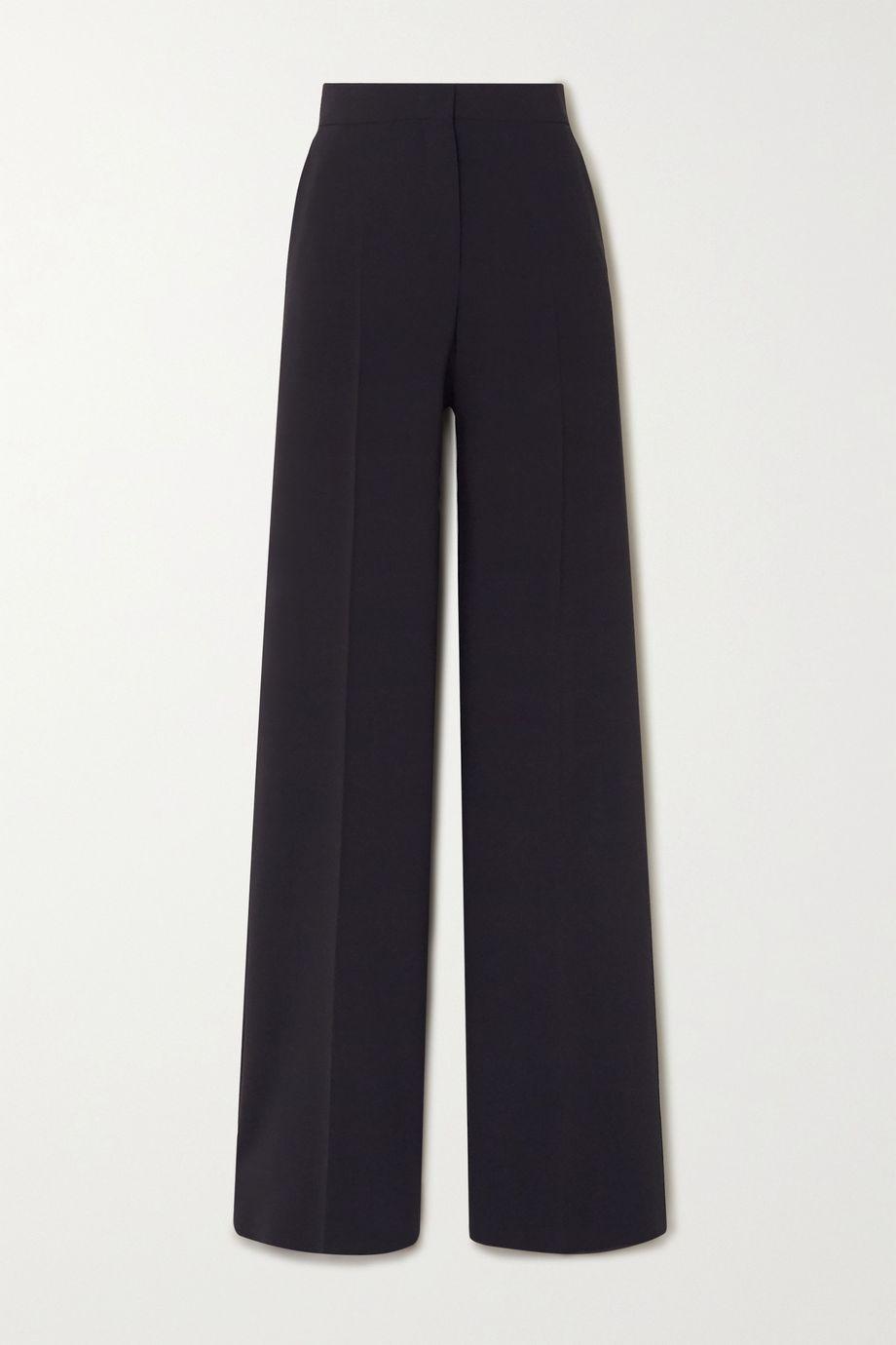 Max Mara Afoso stretch-wool wide-leg pants