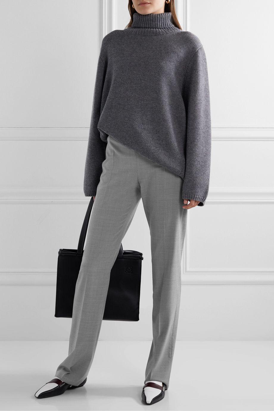 Max Mara Edison wool straight-leg pants