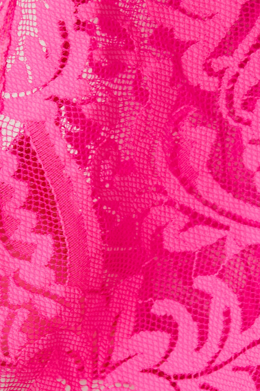 Versace Neon stretch-lace briefs