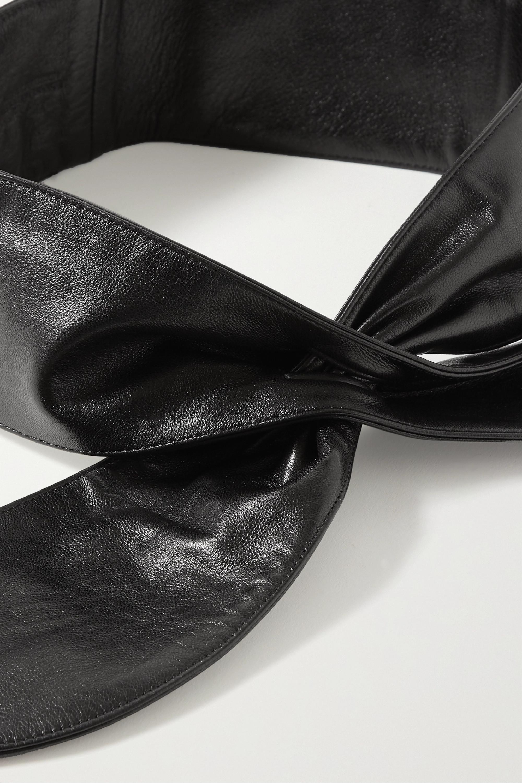 Isabel Marant Kressy leather waist belt
