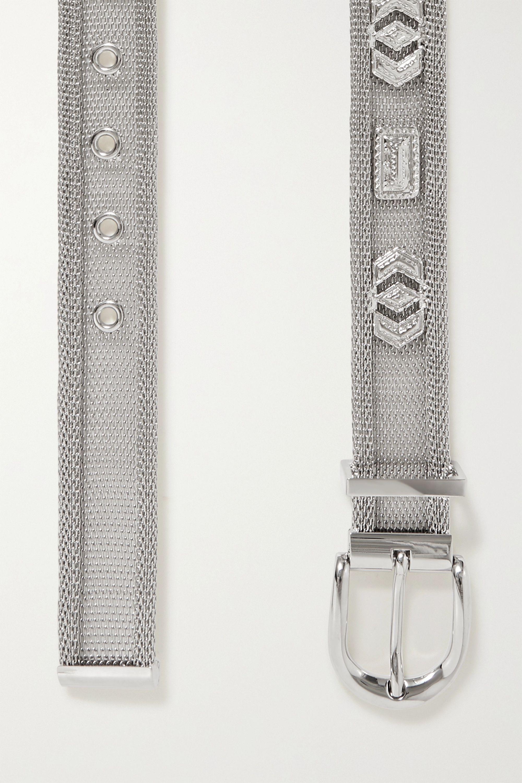 Isabel Marant Bisa embellished mesh belt