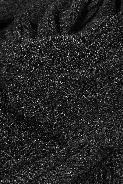 Anthracite Zephyr Cashmere Scarf | Isabel Marant