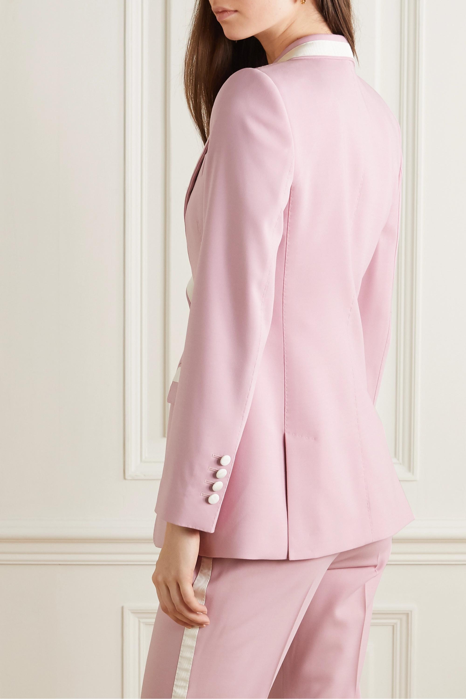 Dolce & Gabbana Blazer aus einer Wollmischung mit Besätzen