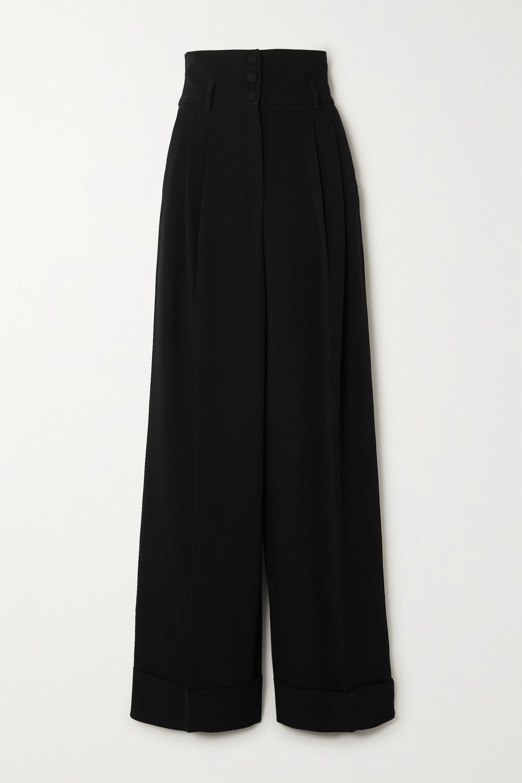 Dolce & Gabbana Cady wide-leg pants