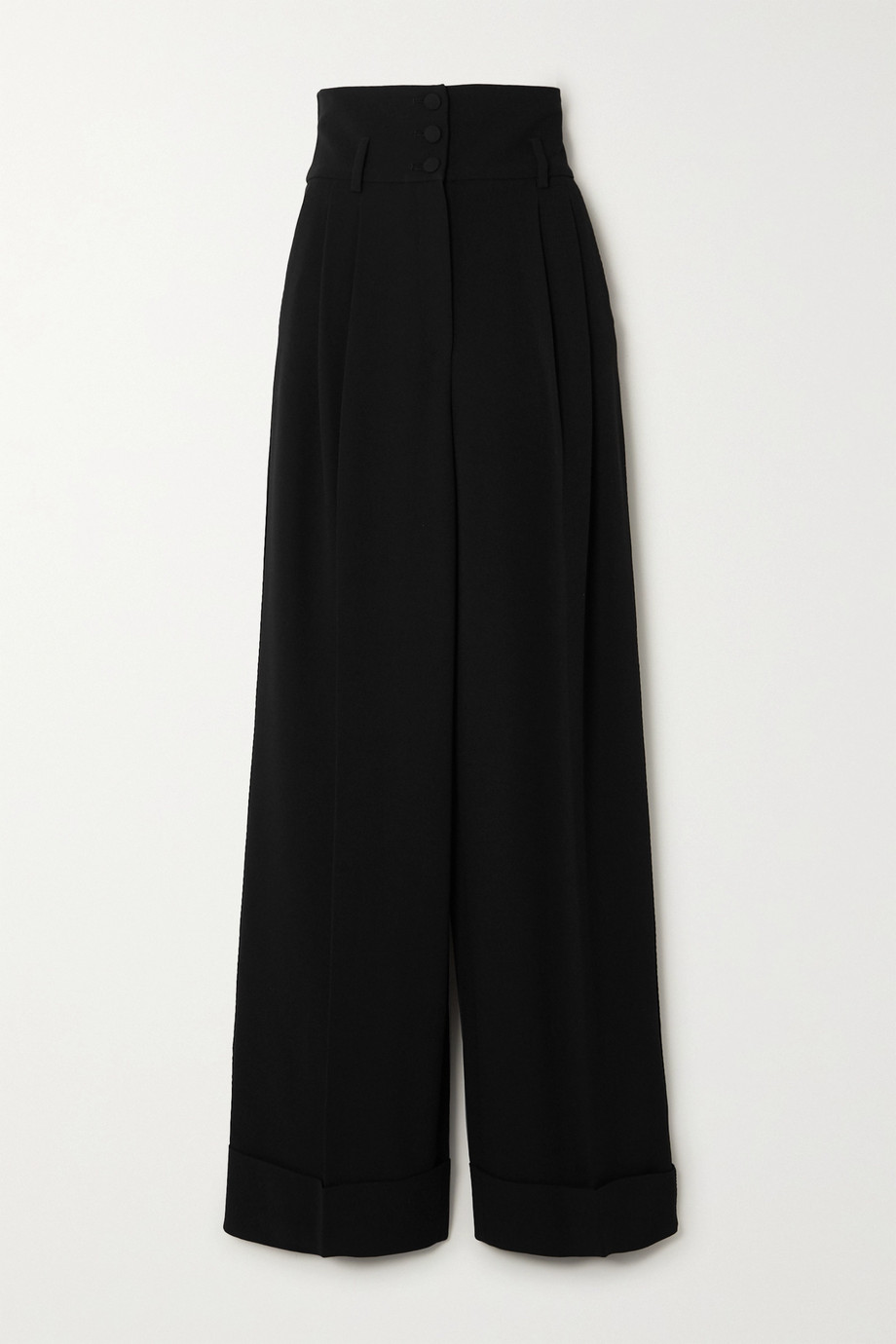 Dolce & Gabbana Pantalon large en cady